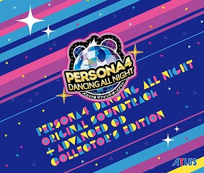「ペルソナ4 ダンシング・オールナイト」 オリジナル・サウンドトラック -ADVANCED CD付 COLLECTOR'S EDITION- [LNCM-1108]