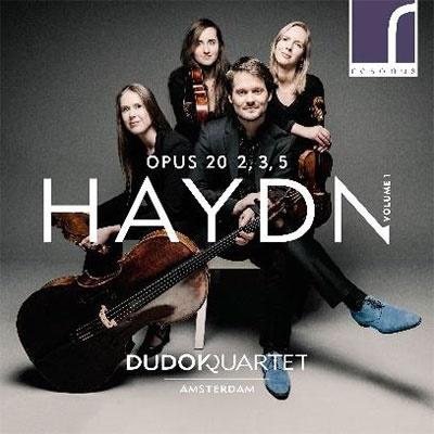 デュドック弦楽四重奏団/ハイドン: 弦楽四重奏曲集 Op.20 第1集