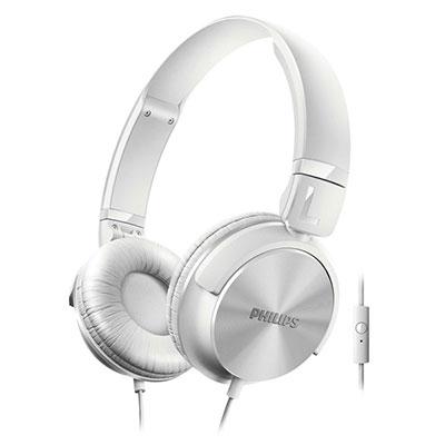 PHILIPS SHL3065WT DJタイプヘッドホンマイク付き White [SHL3065WT]