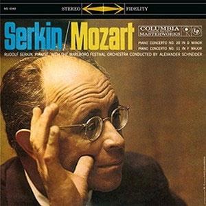 ルドルフ・ゼルキン/Mozart: Piano Concerto No. 20 in D minor; Piano Concerto No. 11 in F major[6049]