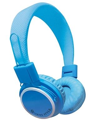 VERTEX 密閉式ダイナミック型ヘッドホン VTH-OH02 Blue [VTH-OH02BL]