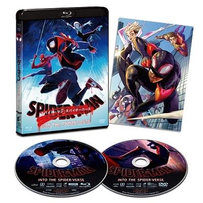スパイダーマン:スパイダーバース [Blu-ray Disc+DVD]<初回生産限定版> Blu-ray Disc