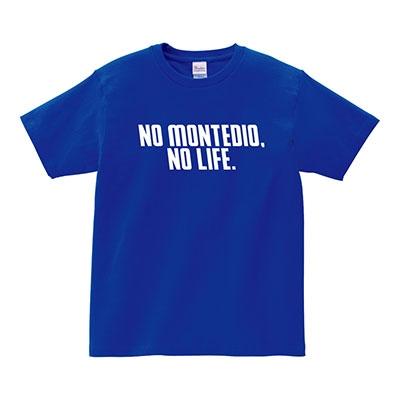 NO MONTEDIO, NO LIFE. 2020 T-shirts(ブルー) XLサイズ Apparel