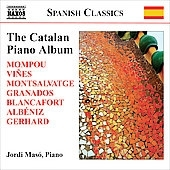 ホルディ・マソ/The Catalan Piano Album -F.Mompou, R.Vines, J.M.Ruera, X.Montsalvatge, etc (7/25-26/2006) / Jordi Maso(p)[8570457]