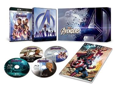 アベンジャーズ/エンドゲーム 4K UHD MovieNEXプレミアムBOX [4K Ultra HD Blu-ray Disc+3D Blu-ray Disc+2Blu-ray Disc]<数量限定版>