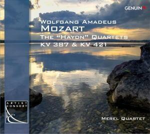 """メレル四重奏団/Mozart: The """"Haydn"""" Quartets KV.387 & KV.421 [GEN14297]"""
