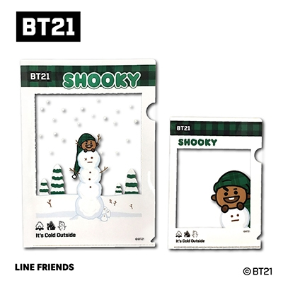 BT21 フレームクリアファイルセット/SHOOKY Accessories