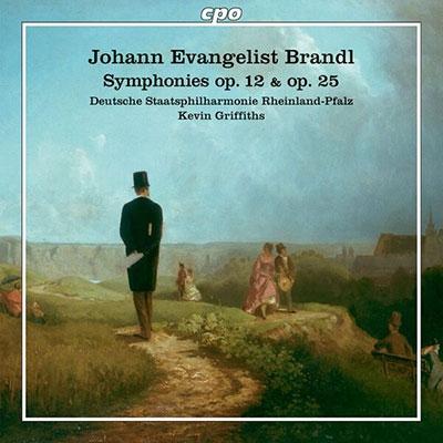 ケヴィン・グリフィス/J.E.Brandl: Symphony Op.12 et Op.25[555157]