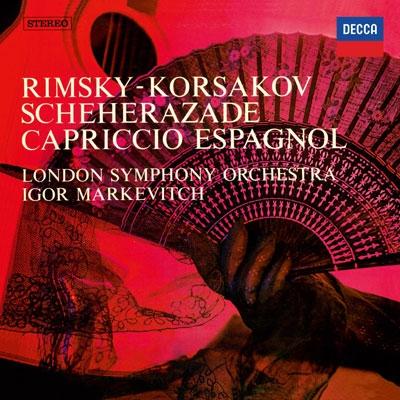 イーゴリ・マルケヴィチ/リムスキー=コルサコフ: 交響組曲「シェエラザード」, スペイン奇想曲<タワーレコード限定>[PROC-1177]