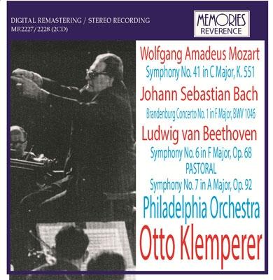 オットー・クレンペラー/Beethoven: Symphony No.6, No.7; J.S.Bach: Brandenburg Concerto No.1; Mozart: Symphony No.41 [MR2227]
