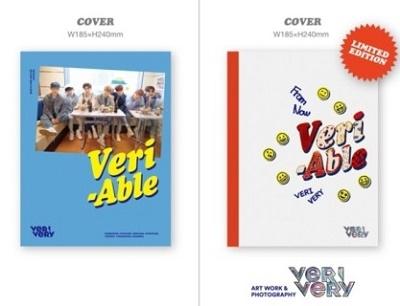Verivery/VERI-ABLE: 2nd Mini Album (ランダムバージョン)[CMDC11402]