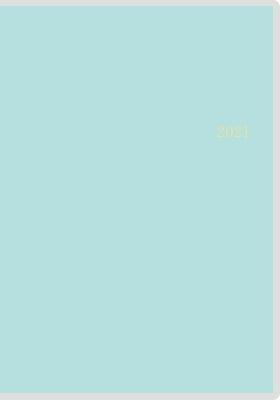 高橋書店 手帳は高橋 ミアクレール グラン 2 [アイスグリーン] 手帳 2021年 A5判 マンスリー クリアカバー ブルー No.457 (2021年版1月始まり)[9784471804572]
