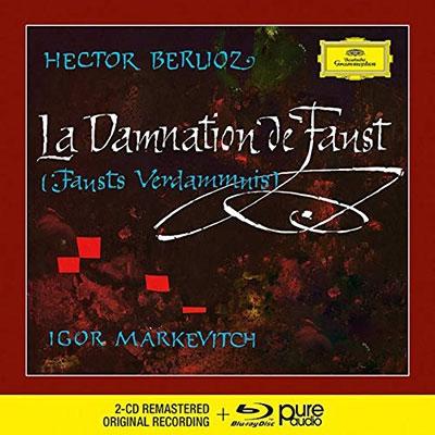 イーゴリ・マルケヴィチ/ベルリオーズ: 劇的物語『ファウストの劫罰』 [2CD+Blu-ray Audio][4836377]