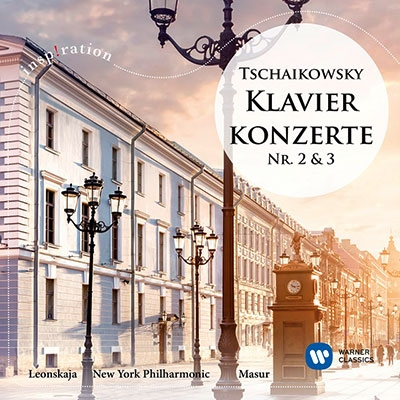 エリーザベト・レオンスカヤ/チャイコフスキー: ピアノ協奏曲第2番&第3番[9029545347]
