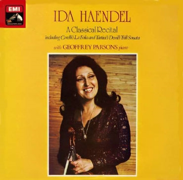 イダ・ヘンデル/Ida Haendel - A Classical Recital [ASD3352]