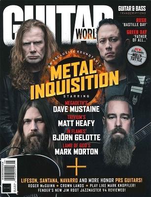GUITAR WORLD 2020年8月号 Magazine