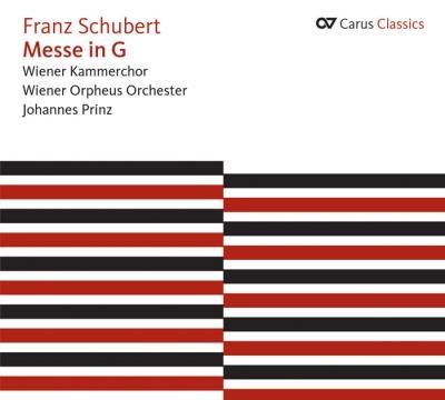 ヨハネス・プリンツ/Schubert: Messe in G, Magnificat D.486, Salve Regina D.386, etc[83317]