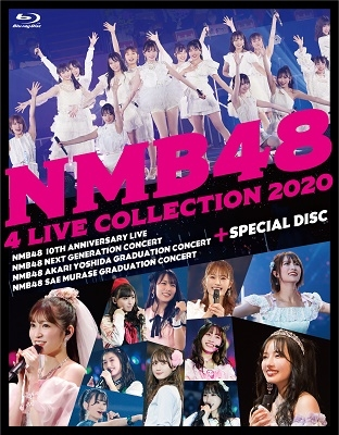 NMB48 4 LIVE COLLECTION 2020 Blu-ray Disc