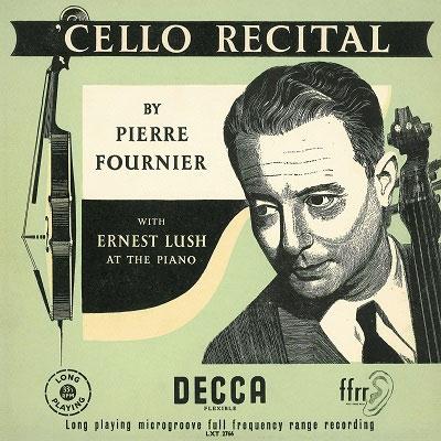 ピエール・フルニエ/チェロ・リサイタル [PROC-1685]