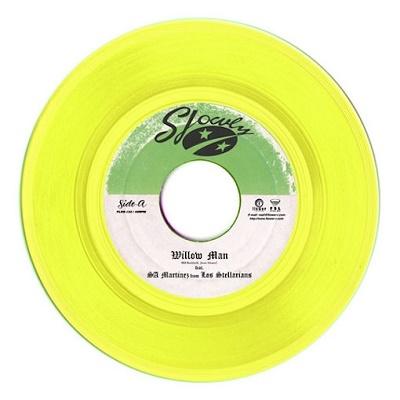 Willow Man Feat. SA Martinez From Los Stellarians<レコードの日対象商品/完全限定カラー盤> 7inch Single