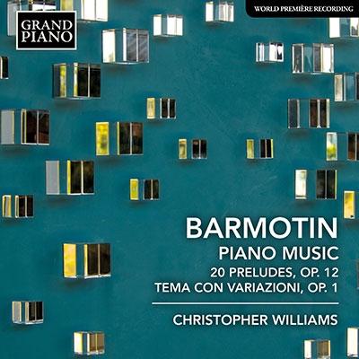 バルモーチン: ピアノ音楽集 CD