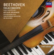 アルテュール・グリュミオー/Beethoven: Piano Concerto No.3 Op.37, Violin Concerto Op.61[4784027]