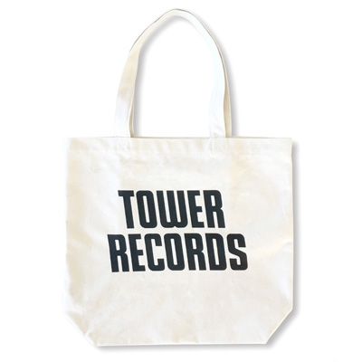 TOWER RECORDS トートバッグ ホワイト Ver.2 [MD01-3355]