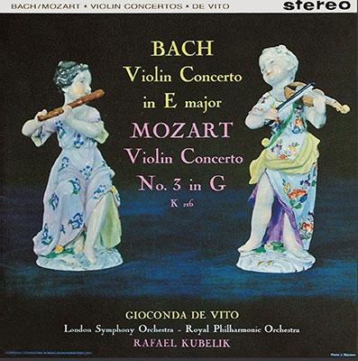 ジョコンダ・デ・ヴィート/J.S.バッハ: ヴァイオリン協奏曲第2番; モーツァルト: ヴァイオリン協奏曲第3番; メンデルスゾーン: ヴァイオリン協奏曲<タワーレコード限定>[TDSA-32]