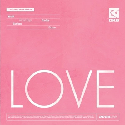 Love: 2nd Mini Album CD