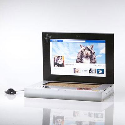 ノートパソコン型 猫の爪とぎ キャット・スクラッチ・ラップトップ [2015000003232]