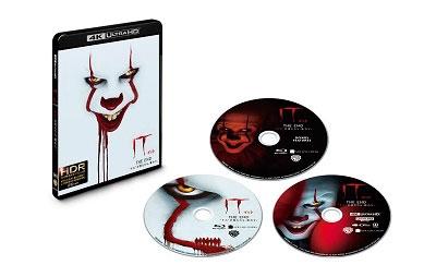 "IT/イット THE END ""それ""が見えたら、終わり。 [4K Ultra HD Blu-ray Disc+2Blu-ray Disc]<初回仕様版>"