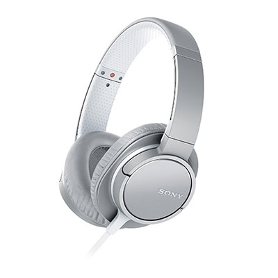 SONY 密閉型ヘッドホン MDR-ZX770/グレイッシュホワイト [MDRZX770WC]