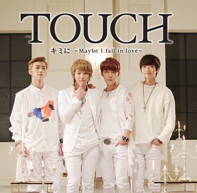 Touch (Korea)/キミに〜Maybe I fall in love〜<通常盤>[WQCQ-523]