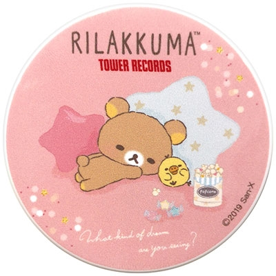 Rilakkuma × TOWER RECORDS コラボマグネットB 2019 Winter Accessories