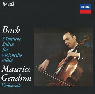 モーリス・ジャンドロン/J.S.バッハ: 無伴奏チェロ組曲 全曲<タワーレコード限定>[PROC-2294]