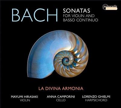 ラ・ディヴィーナ・アルモニア/J.S.バッハ: ヴァイオリンと通奏低音のためのソナタ集[PAS1077]