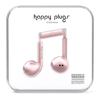 happy plugs イヤホン EARBUD PLUS/ピンクゴールド [7827]