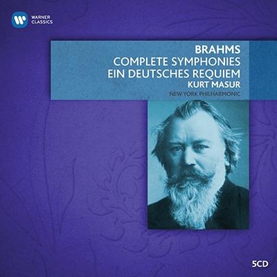 Brahms: Symphony No.1-No.4, Ein Deutsches Requiem, etc