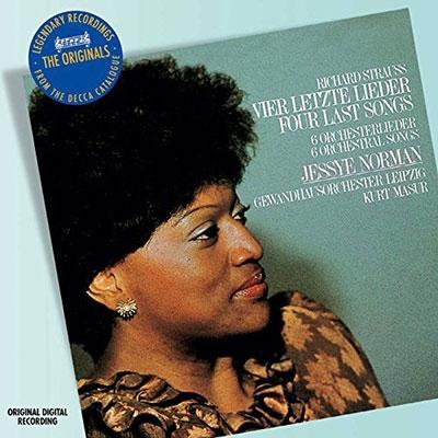 クルト・マズア/R.Strauss:4 Last Songs AV.150/Morgen! Op.27-4/Wiegenlied Op.41-1/etc (8/1982):Jessye Norman(S)/Kurt Masur(cond)/LGO[4758507]
