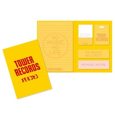 TOWER RECORDS ブック型付箋メモ [MD01-3097]