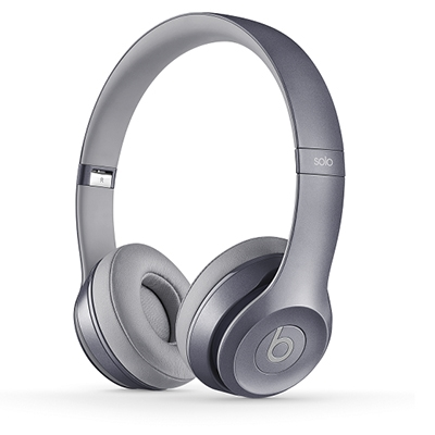 beats by dr.dre Solo2 オンイヤーヘッドフォン Stone Grey