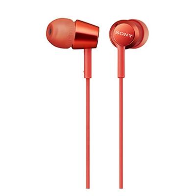 SONY 密閉型インナーイヤーレシーバー MDR-EX155/Red[MDREX155R]