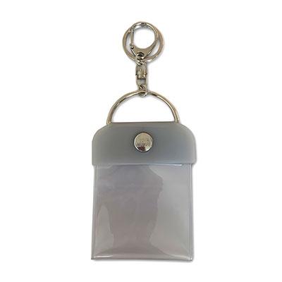 タワレコ 缶バッジキーホルダー57mm用 Gray[MD01-5823]