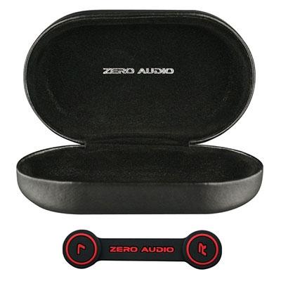 ZERO AUDIO BANECHOイヤホンケース(ヘッドホンクリップ付)/シルキーブラック [ZA-BN-SBK]