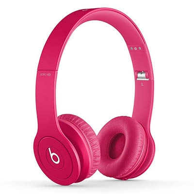 beats by dr.dre Solo HD オンイヤー・ヘッドフォン Matte Pink