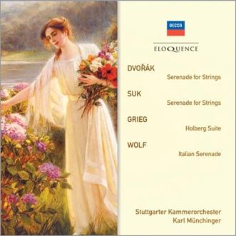 カール・ミュンヒンガー/Serenades for String Orchestra - Dvorak, Grieg, Suk, Wolf[4800447]