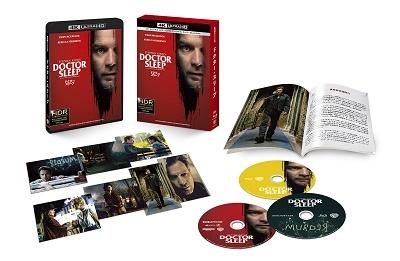 ドクター・スリープ [4K Ultra HD Blu-ray Disc+2Blu-ray Disc]<初回仕様版> Ultra HD