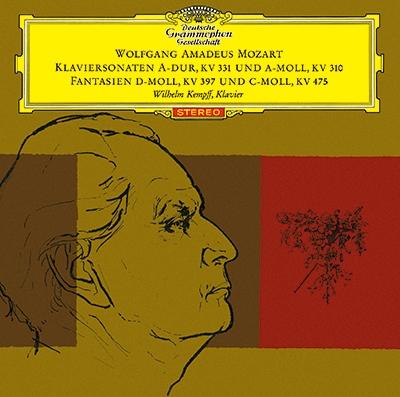 ヴィルヘルム・ケンプ/モーツァルト: ピアノ・ソナタ第8番&第11番「トルコ行進曲付」, 幻想曲K.397, K.475<タワーレコード限定>[PROC-1741]