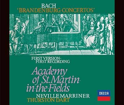 ネヴィル・マリナー/J.S.バッハ: ブランデンブルク協奏曲全曲(サーストン・ダート版)、管弦楽組曲全曲 [PROC-2056]