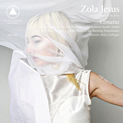 Zola Jesus/Conatus (Gray and Clear Smoke Vinyl)<限定盤> [SBR062LPC1]